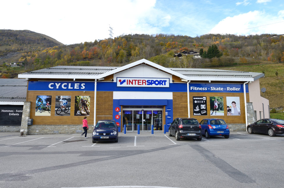 Location de vélo Bourg Saint Maurice Intersport